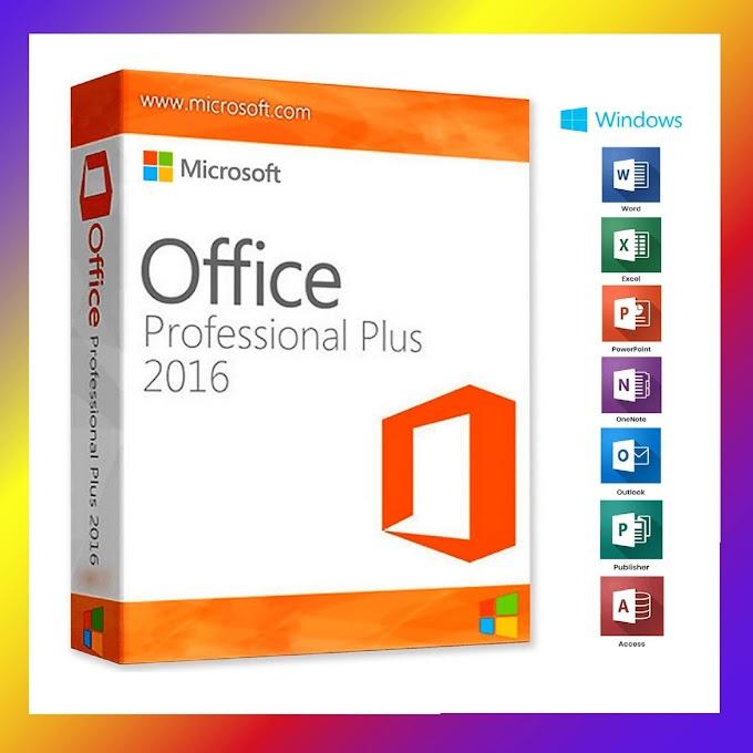 Microsoft Office 2016 Professional Plus 32/64 Bit - Clave de producto (Key)