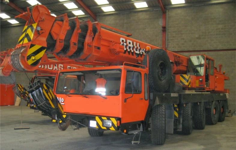 liebherr ltm1090 all terrain crane