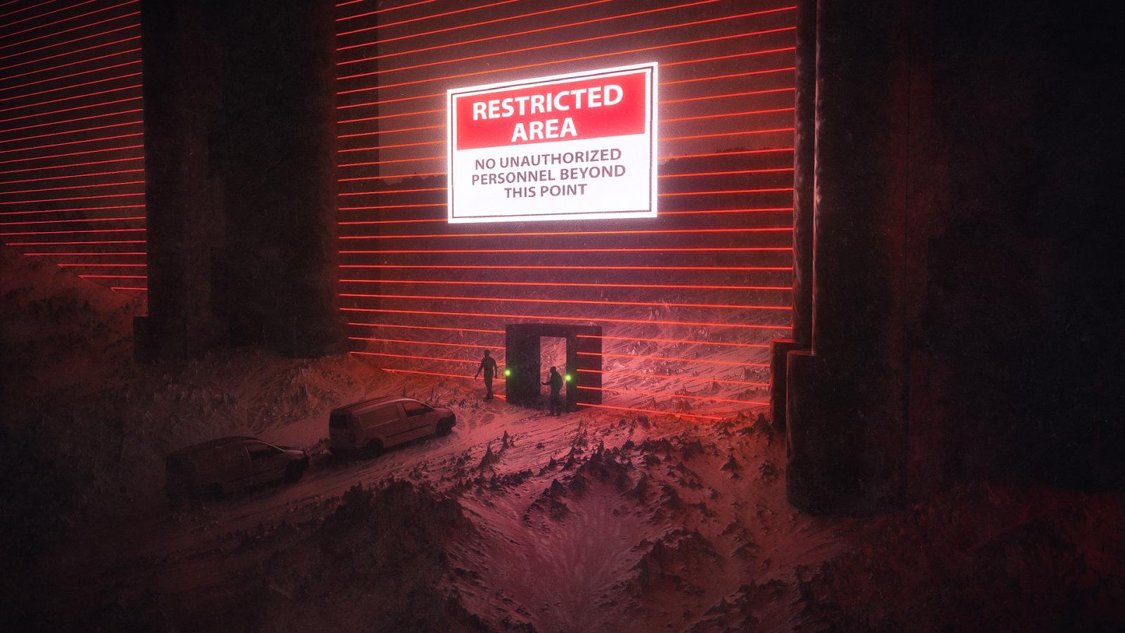 desktop wallpaper restricted area