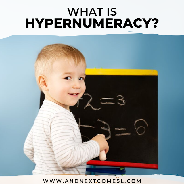 What is hypernumeracy? Here is an attempt to define hypernumeracy