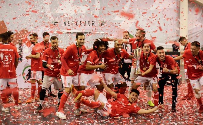Benfica vencedor da Taça da Liga 2019/20 em Futsal