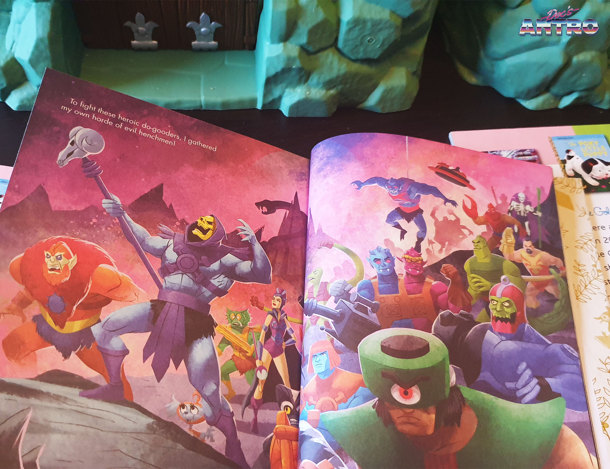 A Little Golden Books Masters of the Universe I Am He-Man Skeletor She-Ra