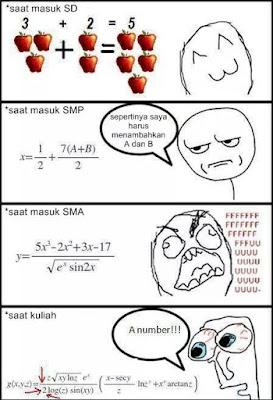 25 Meme Matematika Ini Lucu Banget Bikin Ngakak Pakai Rumus