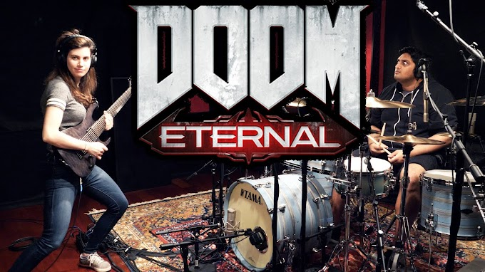 Cover del tema de Doom Eternal - The Only Thing They Fear Is You