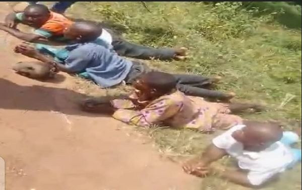 Photo Of Grave Diggers Apprehended With Five Severed Human Heads In Ondo #Arewapublisize