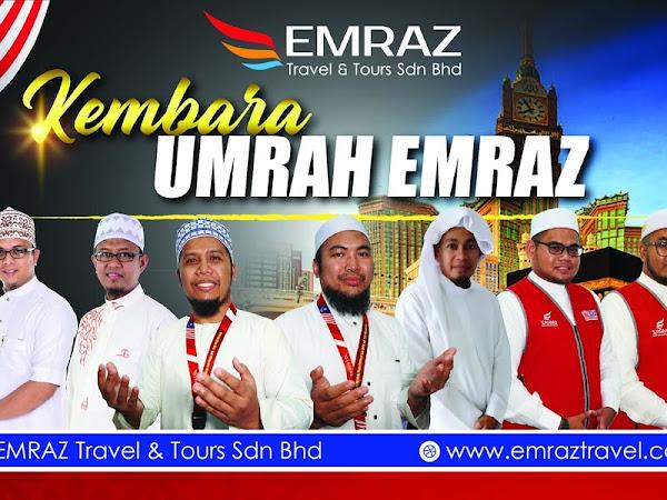 Umrah selesa dengan Emraz Travel