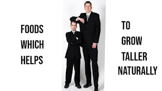 Foods Which Helps to Grow Taller Naturally?