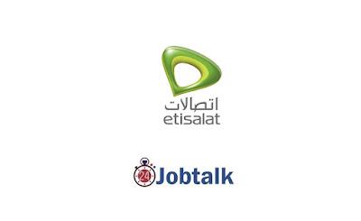 Sales Agent at Etisalat Misr