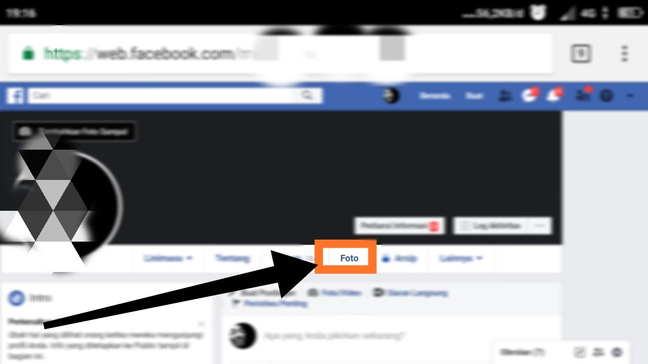 cara menghapus foto di fb secara banyak di hp