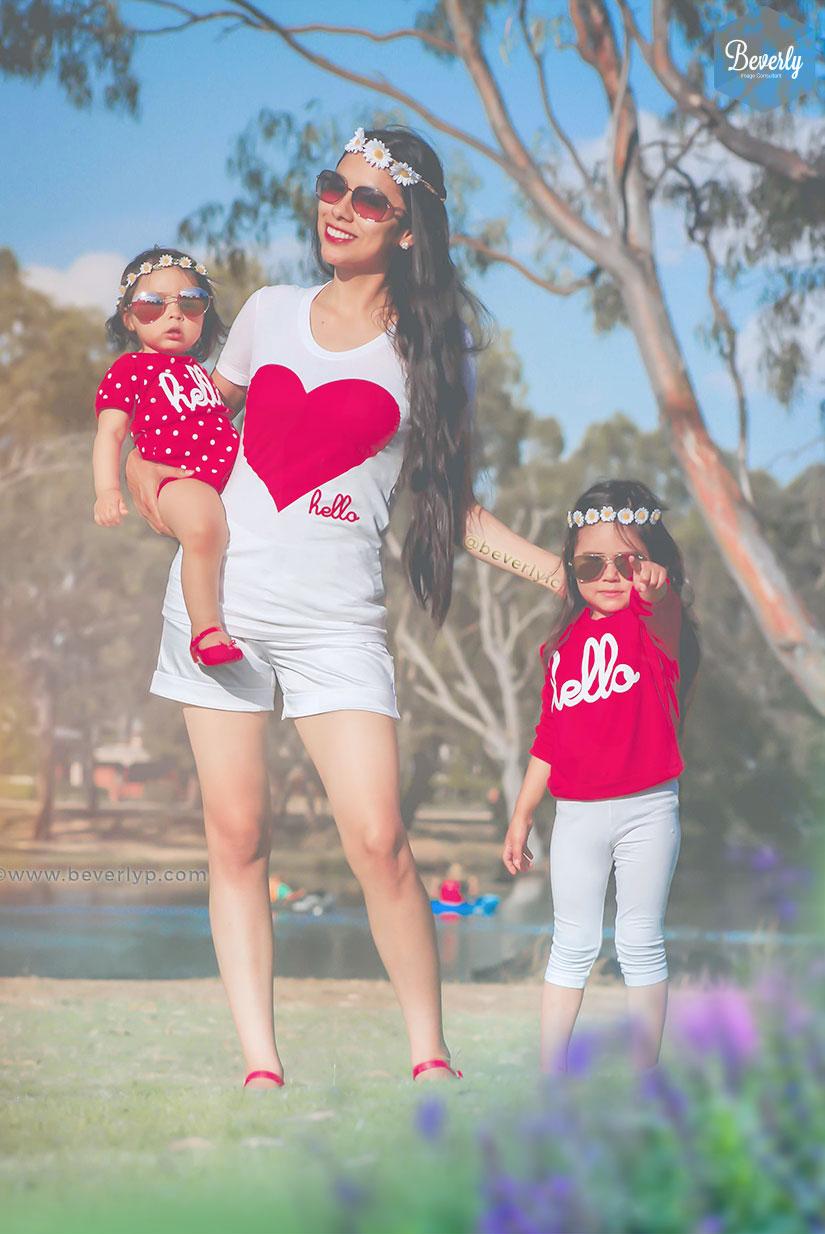 Outfit mini me mama e hija