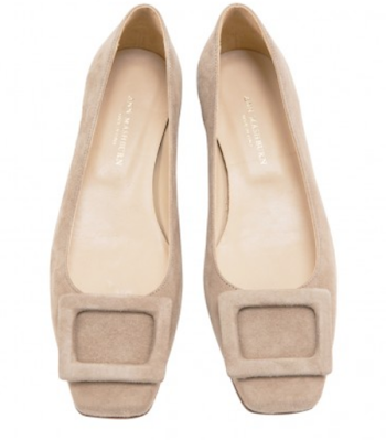 Ann Mashburn buckle shoes