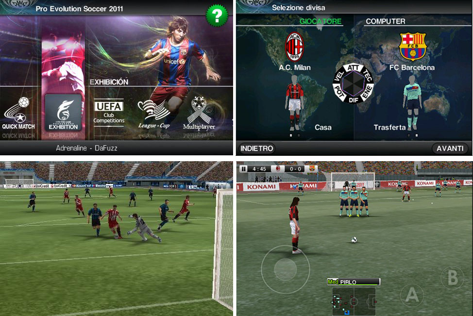 pes 2011 android 2.3.6