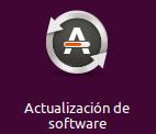 Actualización de software icono