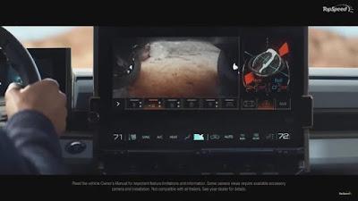Inside the Hummer EV