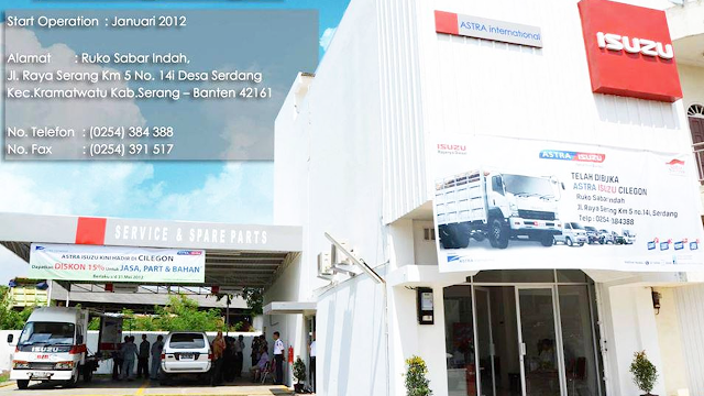 Lowongan Kerja PT Astra International Tbk - Isuzu Sales Operation Cabang Cilegon