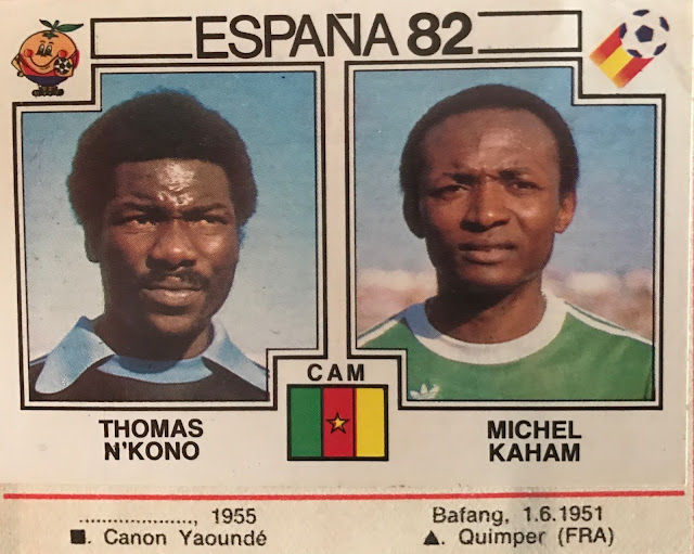 Figurina Thomas N'kono Spagna 82