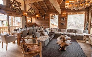 Новая зимняя коллекция садовой мебели от Ethimo в стиле шале