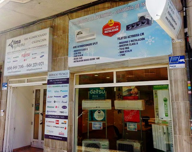 Blog de climasystems inauguraci n de la tienda de elche for Oficina correos elche