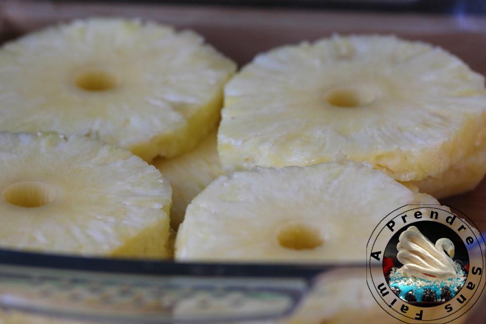 Ananas rôti au caramel d'épices de Christophe Adam (pas à pas en photos)