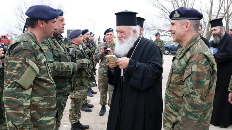Στον Έβρο ο Αρχιεπίσκοπος Αθηνών και πάσης Ελλάδος κ. Ιερώνυμος