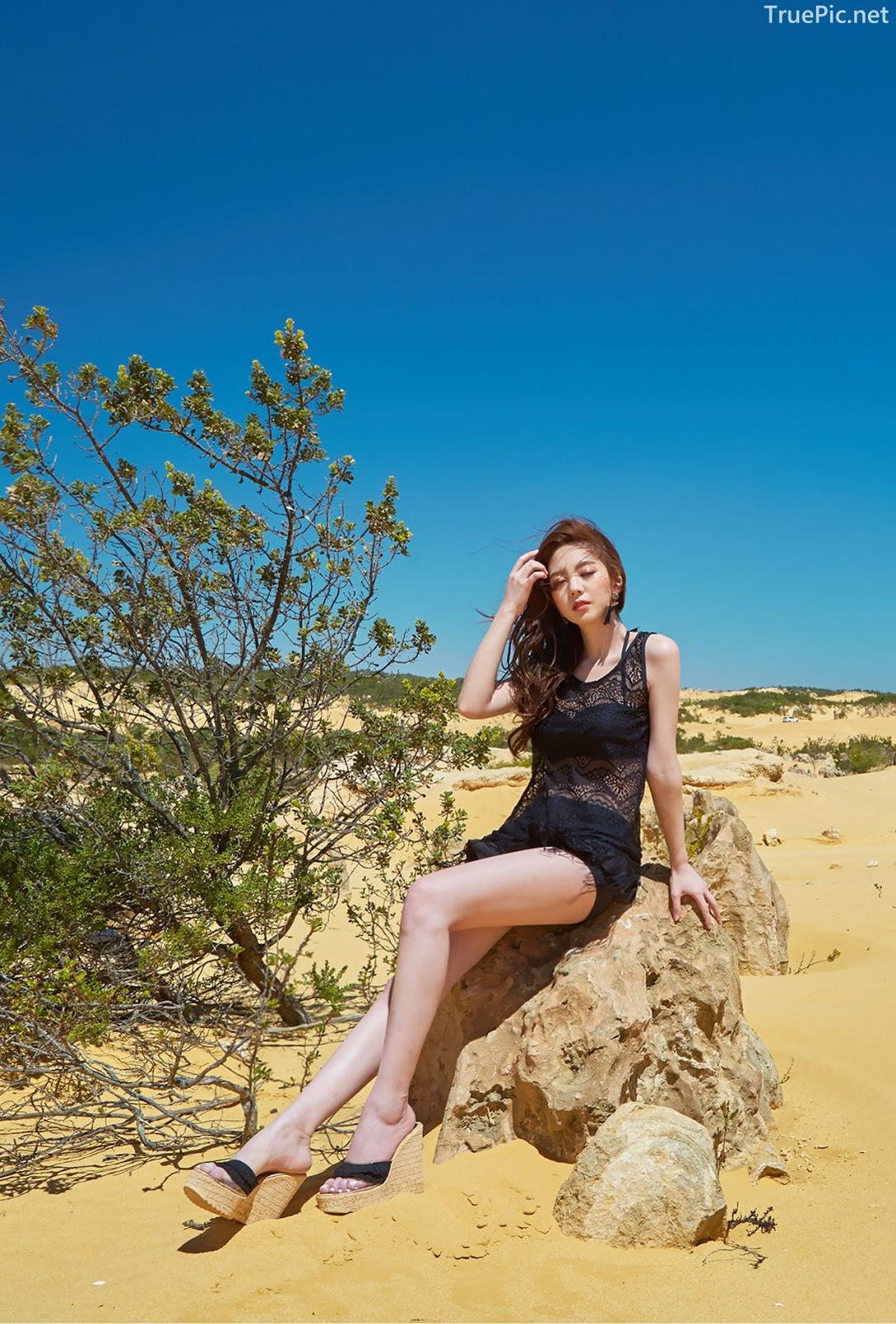 Korean fashion model Lee Chae Eun - Siena Beachwear Set Collection - TruePic.net - Picture 8