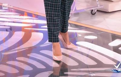 scarpe di Bianca Guaccero 20 novembre