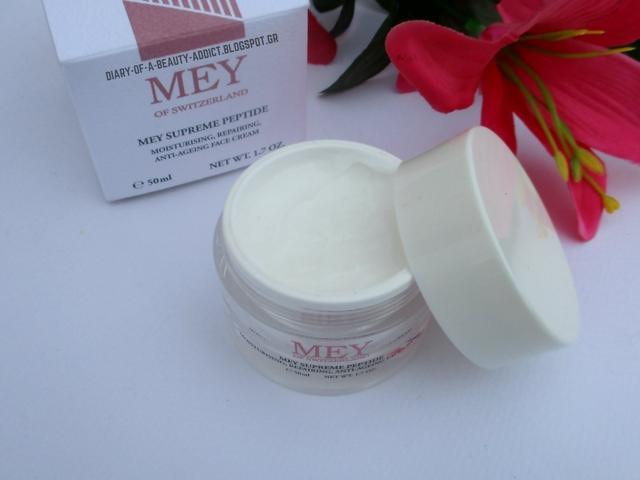MEY Supreme Peptide Face Cream ║Κυτταρική αναγέννηση του προσώπου με μια κρέμα;