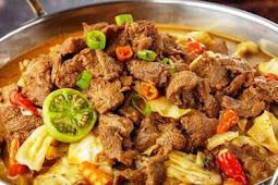 Resep Masakan Indonesia Daging Kambing Tongseng