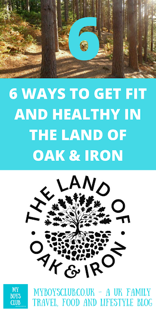 Six Ways to get fit and healthy in the Land of Oak & Iron derwent valley