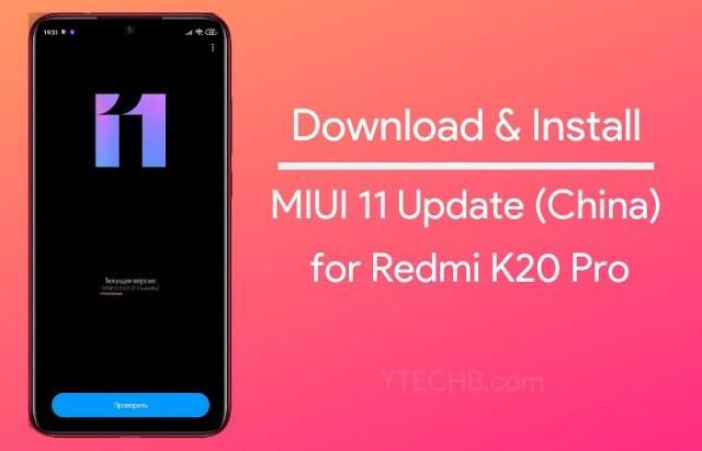 Redmi K20 starts receiving MIUI 11 update, how to download