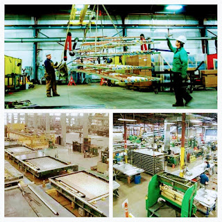 process of production and transportation of prefabrication