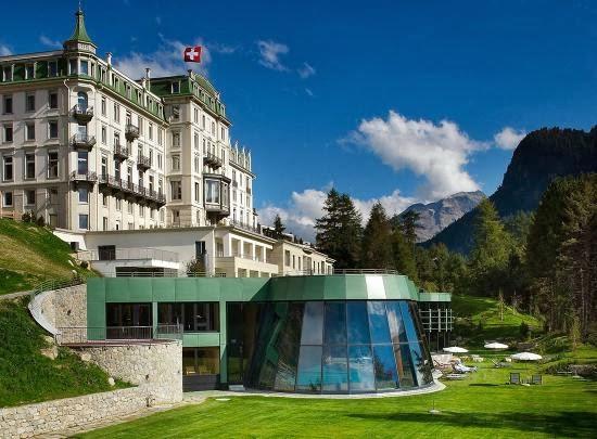 Grand Hotel Kronenhof, Pontresina, Switzerland