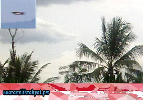'UFO' di Magelang, Jawa Tengah