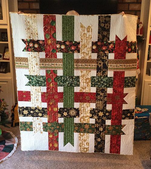 Ribbon Box Quilt