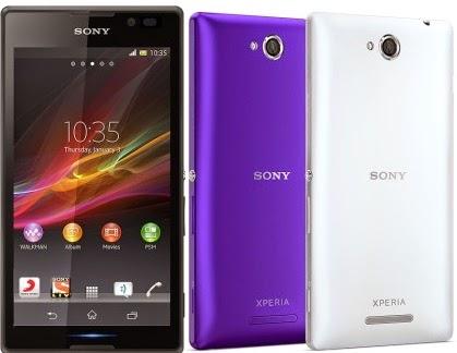 Harga hp Sony Xperia C