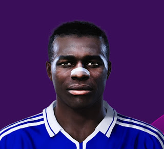 PES 2020 Faces Émile Mpenza by Dominic