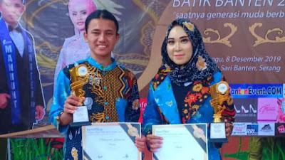 Putra Putri Dari Desa Laksana Torehkan Juara Pada Pemilihan Putra Putri Batik Banten 2019