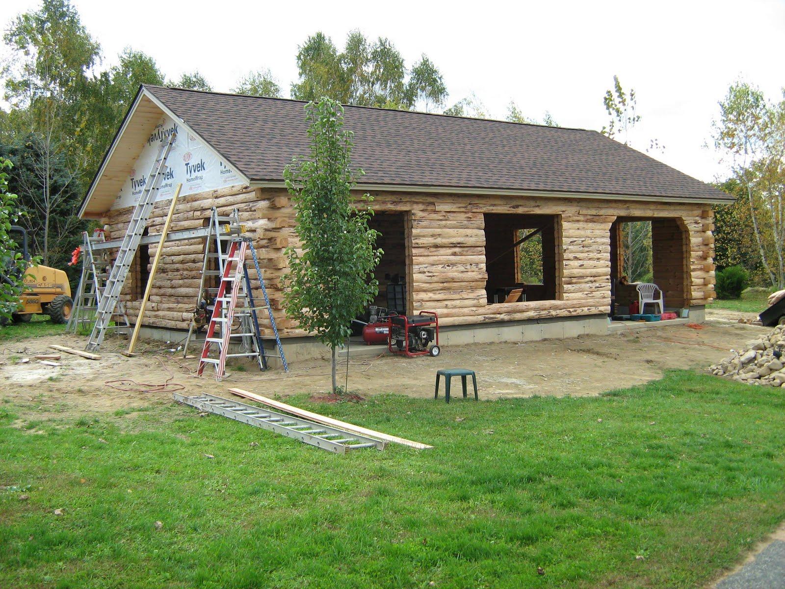 Bruce R Johnson Log Cabin Roof