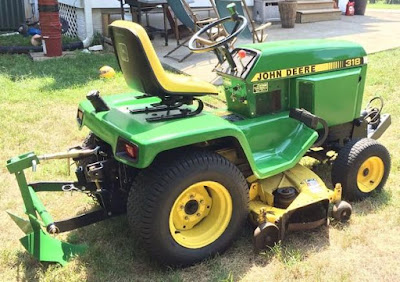 john deere manual pdf: John Deere 316 318 420 Lawn and ... on