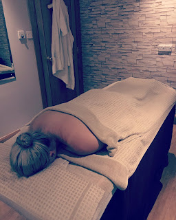photo of woman on massage couch in cardrona hotel