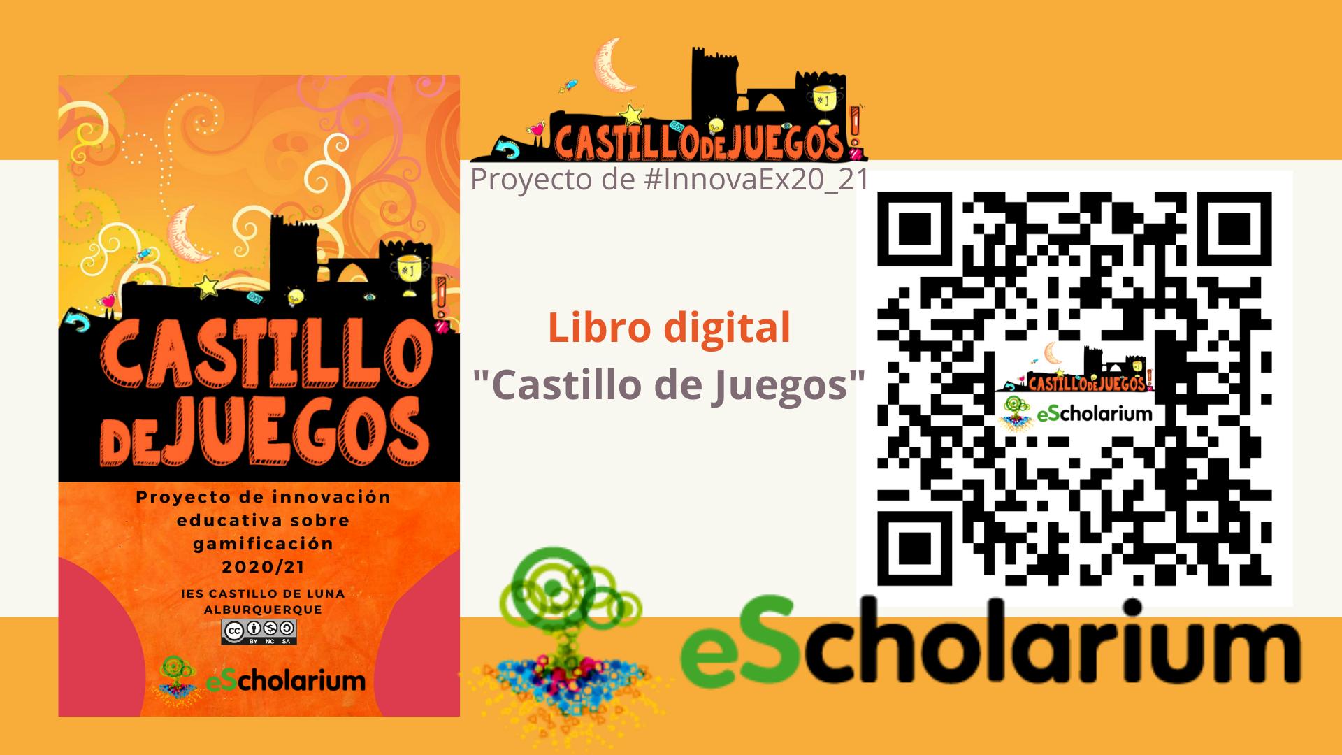 Escanea QR para acceder al libro digital de Castillo de Juegos