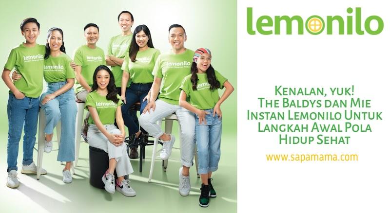 Kenalan, Yuk! The Baldys dan Mie Instan Lemonilo Untuk Langkah Awal Pola Hidup Sehat