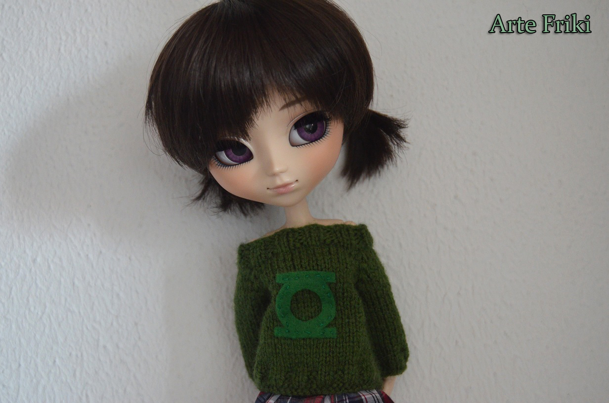 pullip doll blythe sweater jersey knitting cardigan friki