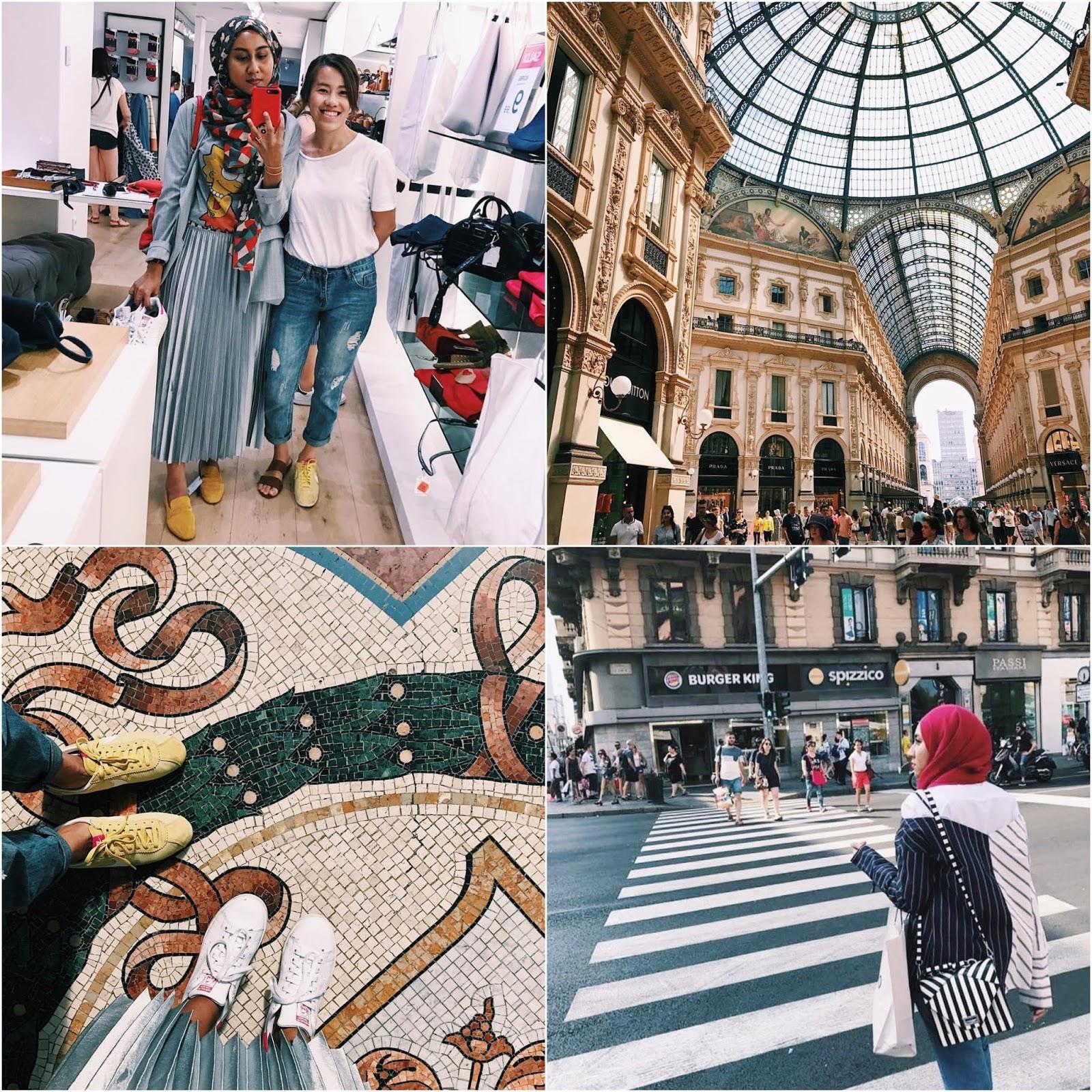 Italy Milan Vittorio Emanuele Instagram Photos