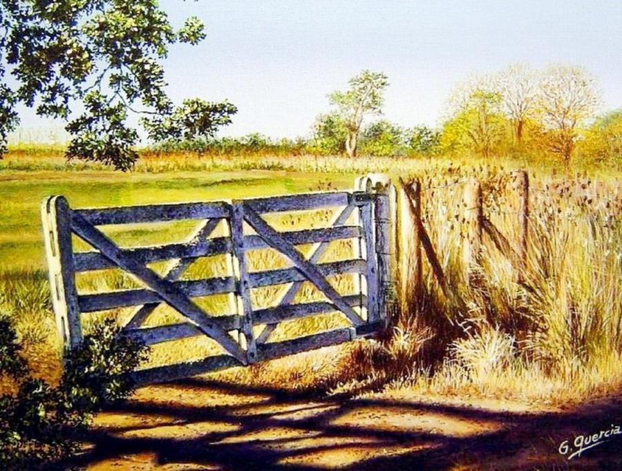 Cuadros modernos pinturas y dibujos puertas de madera - Cuadros pintura acrilica moderna ...