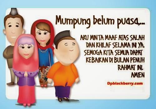 Kata-kata Ucapan Bulan Puasa ( Ramadhan 1438 H )