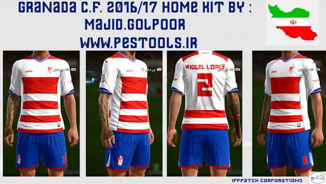 PES 2013 Granada CF Kit Season 2016/17