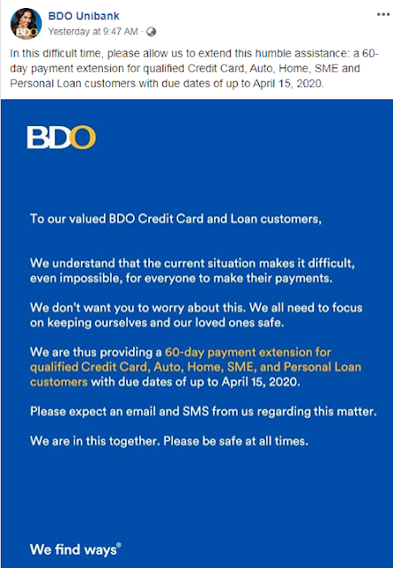 BDO Payment Extension