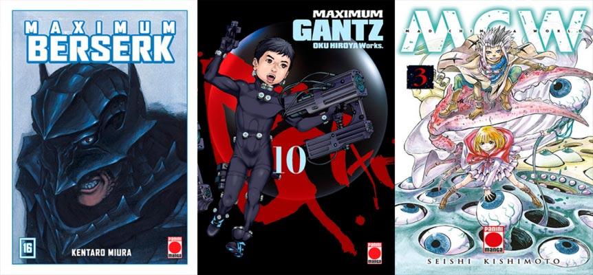 Novedades Panini Cómics enero 2020 - manga seinen