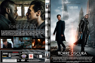 CARATULA LA TORRE OSCURA - THE DARK TOWER - 2017 [COVER - DVD]